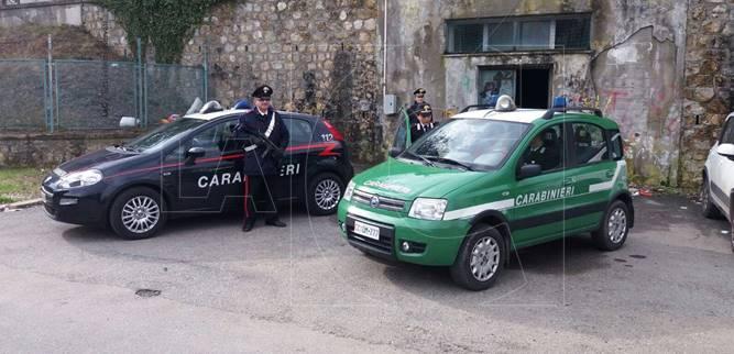 Controlli dei Carabinieri e della Forestale nei punti di smistamento dei serbatoi d'acqua