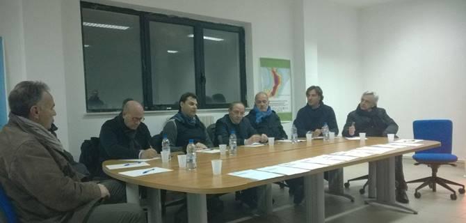 L'incontro a Mendicino con il candidato alla presidenza della Provincia Iacucci