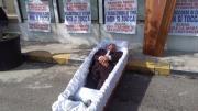 Protesta a Crotone, foto de Il Crotonese