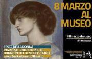 Locandina 8 marzo al Museo
