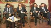 Stefano Parisi a Cosenza: «Serve una legge elettorale che dia stabilità al Paese»