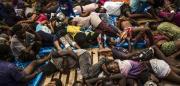 """Sbarco migranti a Reggio, sulla """"Diciotti"""" in 413"""