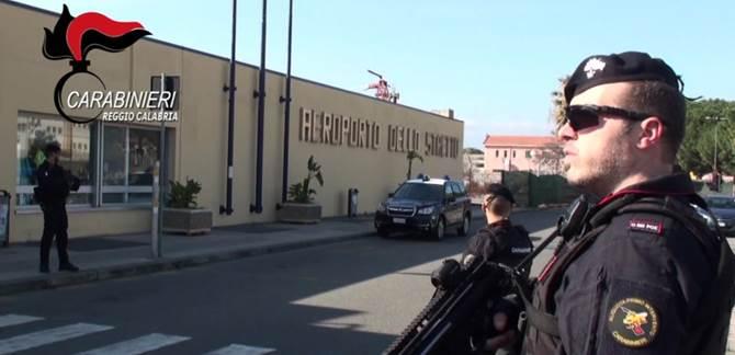 Reggio Calabria, militari dell'Arma