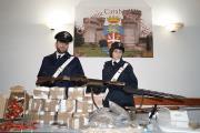 Blitz a Castel Madama (Rm): rinvenuti fucili e droga, arrestati 4 calabresi (VIDEO)