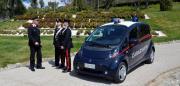 Catanzaro, il primo veicolo elettrico in uso al comando dei carabinieri