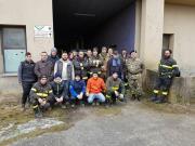 Girifalco, proseguono le operazioni di pulizia nei locali di contrada Serra