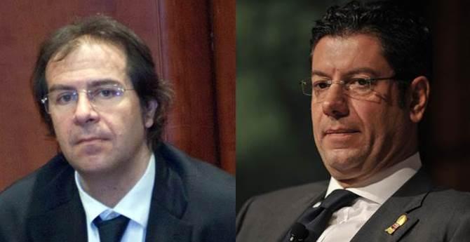 Alberto Sarra e Giuseppe Scopelliti