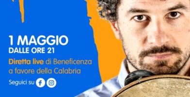 """""""Solidarietà e lavoro"""", in Calabria il concerto del primo maggio si fa online"""