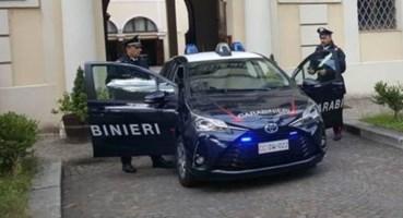 Una pattuglia dei carabinieri di Cosenza