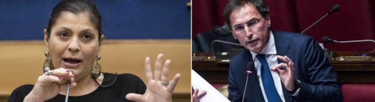 La presidente Santelli e il ministro Boccia