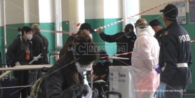 Rientri, alla stazione di Paola maglie strette: controllati tutti i passeggeri
