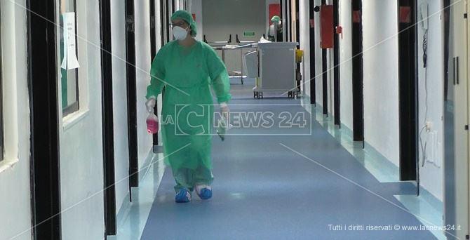Il reparto di Malattie Infettive dell'ospedale Pugliese di Catanzaro