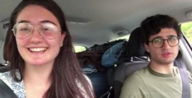 1.200 km in un video di 120 secondi: il viaggio verso casa di 2 studenti calabresi