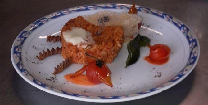 Uno dei piatti preparati per l'occasione