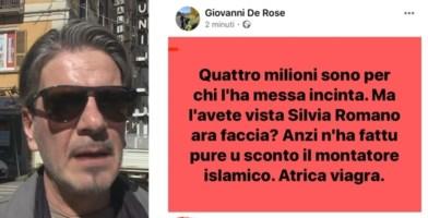 Cosenza, commento sessista su Silvia Romano inguaia ex comandante della Municipale