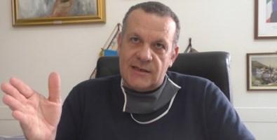 Il sindaco di Santa Maria del Cedro Ugo Vedere