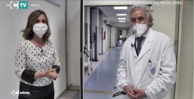La cardiologia nell'era del Covid, viaggio nel reparto dell'ospedale di Catanzaro