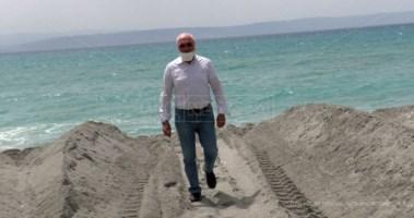 Strutture balneari Lametine messe in ginocchio da erosione costiera e Covid