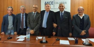 Da sinistra Siclari, Leone, Alfieri, Perciaccante, Mazzei e Macrì