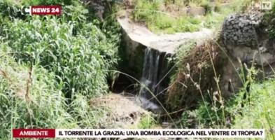 Le ombre sul torrente La Grazia, una bomba ecologica a Tropea?
