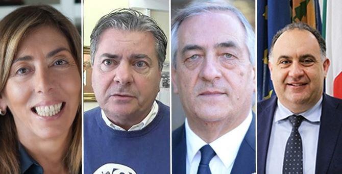 Tilde Minasi, Filippo Mancuso, Pietro Molinaro e Pietro Raso