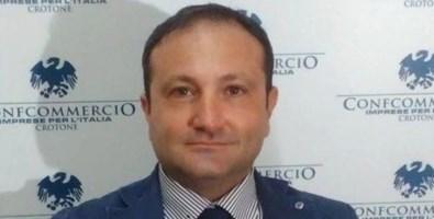 Il presidente della Confcommercio di Crotone Alfio Pugliese