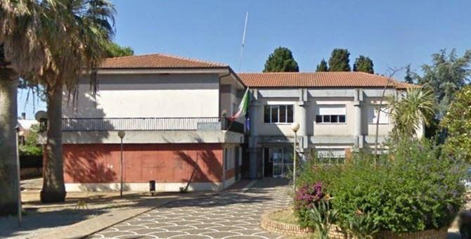 Il municipio di Ricadi