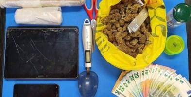 Reggio Calabria, sorpreso con 150 grammi di marijuana in casa: arrestato