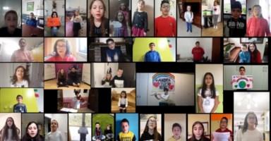 «Tutto andrà bene»: l'inno di speranza di alcuni studenti cosentini
