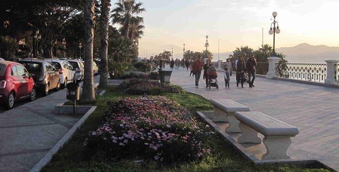 Il lungomare di Reggio Calabria