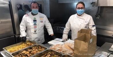 Solidarietà, nel soveratese un pasto caldo per le persone indigenti