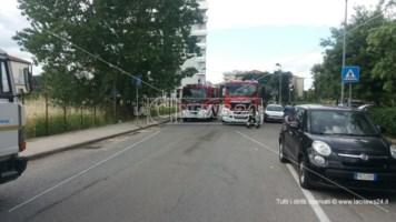 Rende, si rompe una condotta del gas nei pressi dello svincolo autostradale