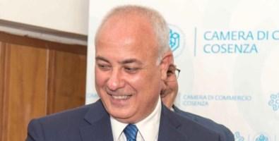 Il presidente della Confcommercio Calabria Klaus Algeri