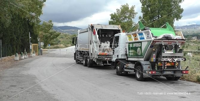 L'impianto di trattamento di Catanzaro, che accoglie i rifiuti di Vibo Valentia