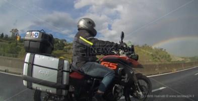 Angeli in moto, a Catanzaro arrivano i volontari su due ruote: il video