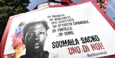 Commemorazione per Soumaila Sacko, sindacalista ucciso per una lamiera