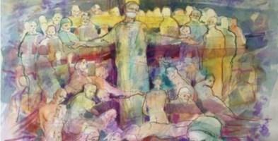 """L'opera del maestro Maurizio Carnevali """"Salvezza è Sacrificio"""""""