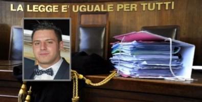 Nel riquadro la vittima, Francesco Vangeli