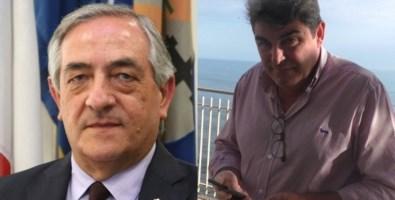 Da sinistra, Pietro Molinaro e Luigi Novello