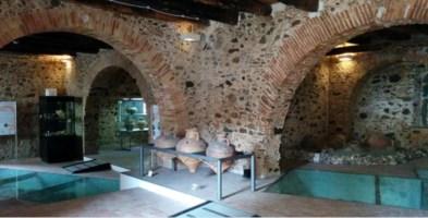 Interno del Museo Metauròs di Gioia Tauro