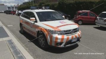 Un veicolo medico del servizio 118 di Cosenza