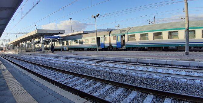 La stazione di Lamezia Terme