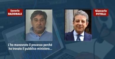 Da sinistra il boss Saverio Razionale e l'avvocato Giancarlo Pittelli