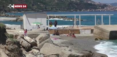 La spiaggia di Favazzina