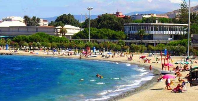 Il lido comunale di Reggio Calabria