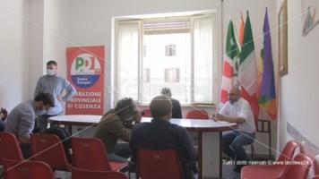 Nuova sede del Pd a Cosenza: la conferenza stampa di inaugurazione