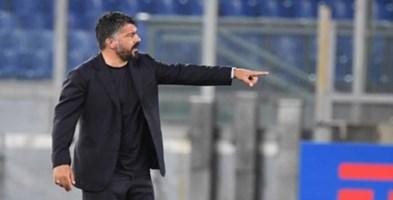 L'allenatore del Napoli Rino Gattuso
