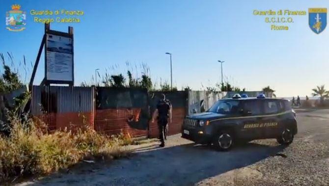 Una delle aree sottoposte a sequestro nell'inchiesta Waterfront