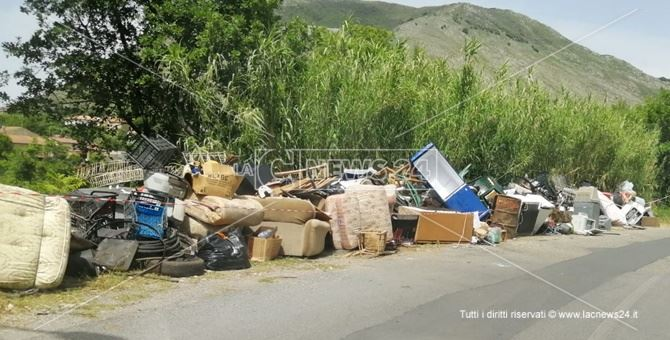Parte dei rifiuti oggetto di sequestro