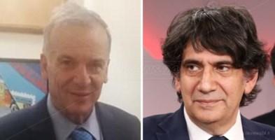 Da sinistra, Domenico Tallini e Carlo Tansi